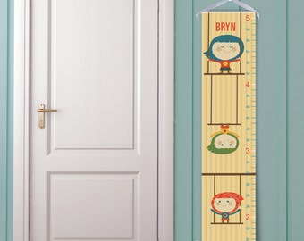 The Flying Trapeze Personalized Growth Chart