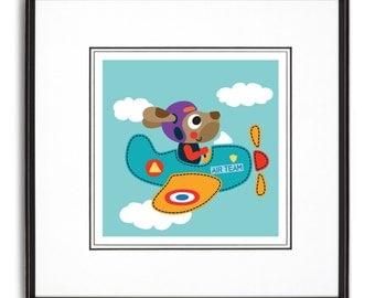 Air Team Art Print