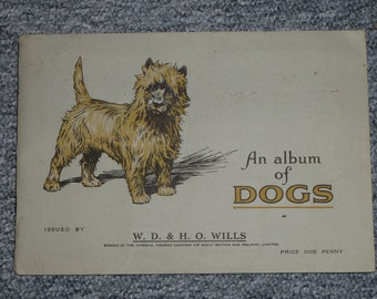 British Cigarette Card Set ( 41 of 50 Cards) - Dogs. Issued 1937 by Wills Cigarettes.
