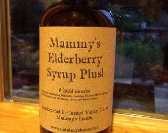 Mammy's Elderberry Syrup Plus!