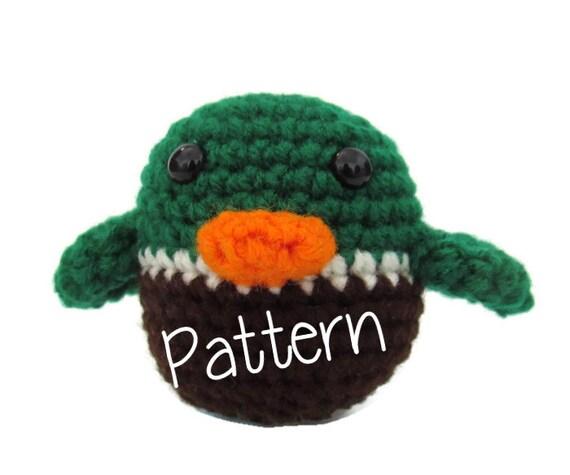 Duck Pattern Crochet Duck Pattern by CinnamonCreekBoutiqu ...