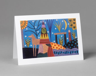 Just Looking Greeting Card
