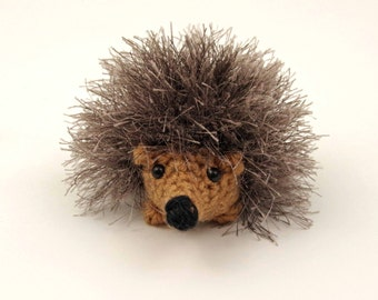 Baby Hedgehog, Crochet Toy, Amigurumi
