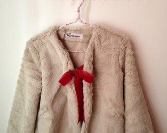 Girls Cardigan colour beige /Girls Jacket/ Girls Jacket / Girls cardigan/ Bolero/ Girls cardigan/ Toddler Cardigan, Toddler Sweater