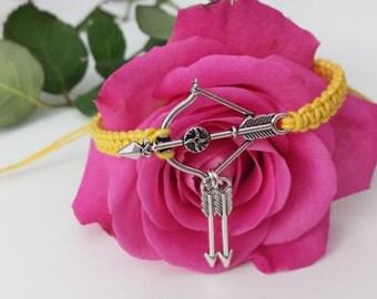 Hunger Games Inspired String Bracelet