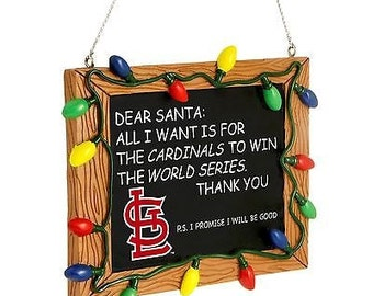 ST. LOUIS CARDINALS ornament