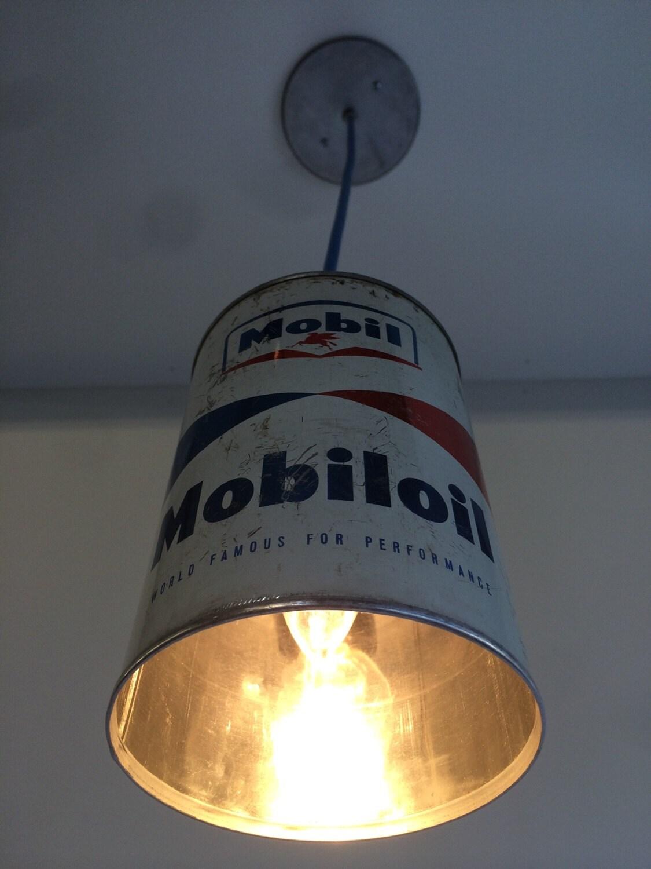 Vintage Oil Can Pendant Light Mobil