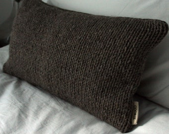 A Cozy Wool & Velvet Scatter Cushion