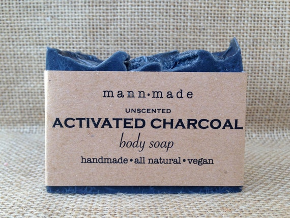 Sold out activated charcoal soap unscented vegan all natural