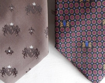 Pair of Vintage Classic Neckties!