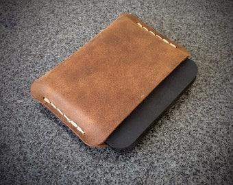 Leather Minimalist Wallet - Men's Wallet - Card Holder - Card Wallet - Women's Wallet