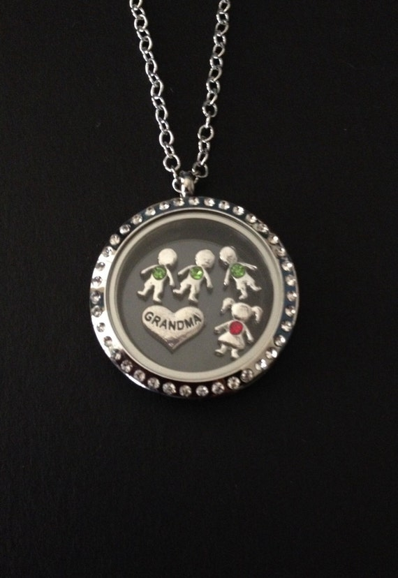 Origami Owl Necklace Back