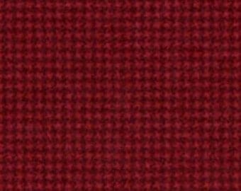 45'' Maywood Studios Woolies Flannel Red MASF18122-R3 by the Yard