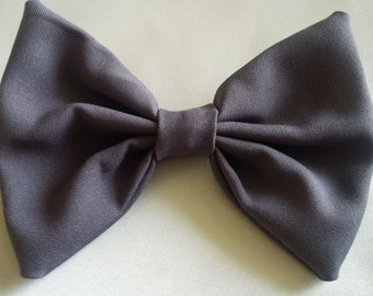 SmilesBows Gray Hair Bow