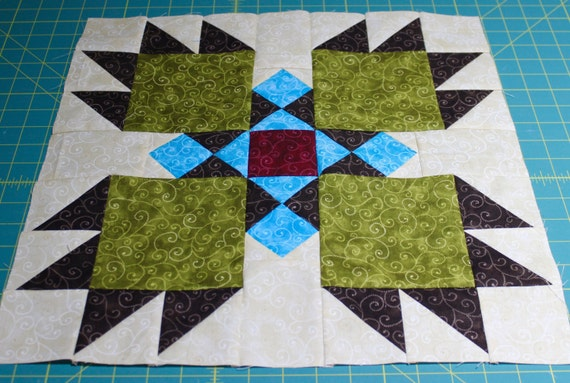 Southwest Quilt Pattern Bear Paw Indian Native