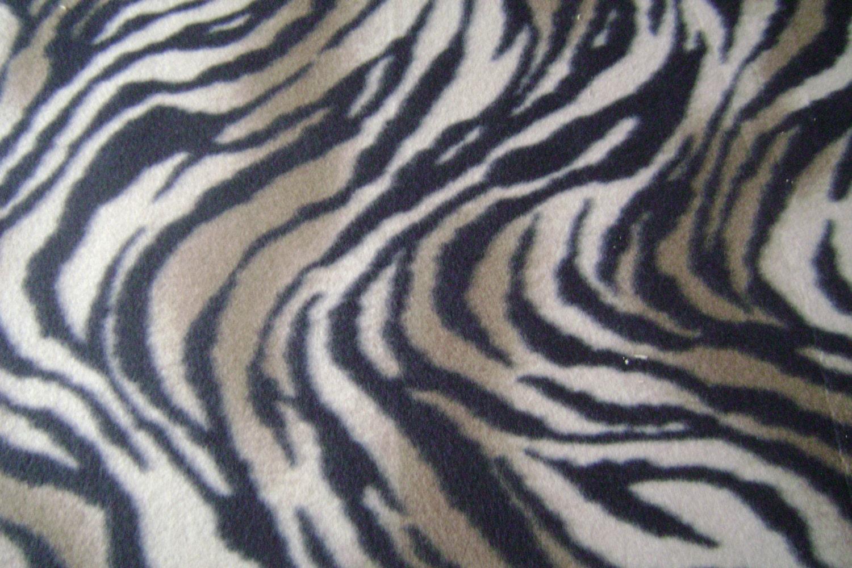 zebra print fleece fabric by the yard. Black Bedroom Furniture Sets. Home Design Ideas