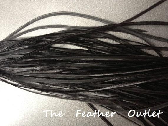 cheveux plumes 10 extensions de cheveux plume v ritable long. Black Bedroom Furniture Sets. Home Design Ideas