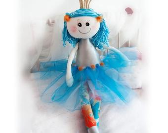 Princess handmade rag doll