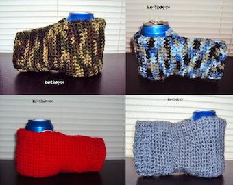 Drink Mitt - Crochet Drink Mitt - Drink Mitten - Beer Mitt - Crochet Drink Mitten - Crochet Beer Mitten - Drink Holder