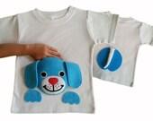 toddler boy clothes, baby boy shirt, gift idea, animal shirt, puppy shirt, toddler dog shirt, baby boy clothes, dog tshirt, dog shirt, cute