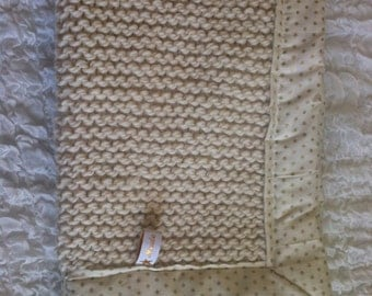 Cover soft wool/stars