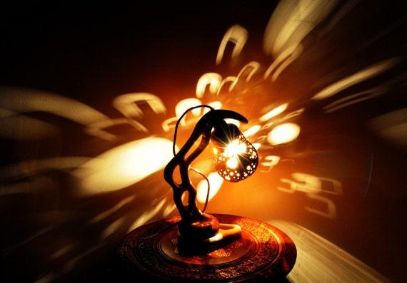 Albero di pera magico artigianale straordinaria lampada in for Luce di pera