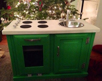 Child's Play Kitchen - Customized