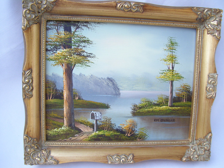 K Bowman Oil Painting