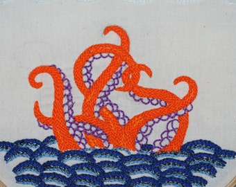 Tentacles! Embroidery