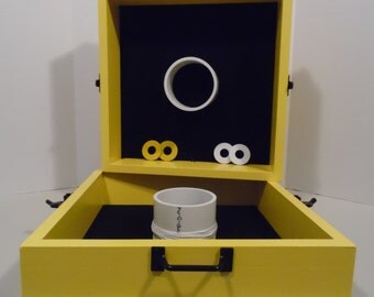 Washer Box - Bumble Bee Yellow - Square