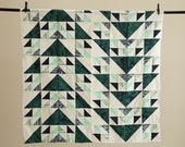 Flying Geese Throw Quilt