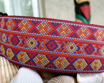 "2"" Native American Bead Martingale Collar"