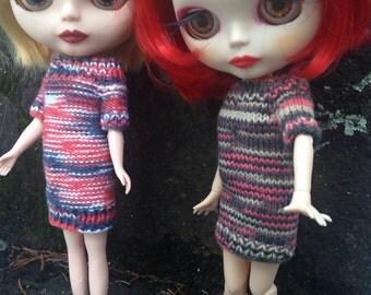 Hand Knit Blythe Sweater Dress