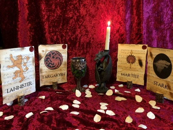 Game of thrones themed wedding table d cor wedding table Game decoration