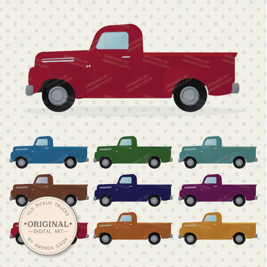 Pickup truck Illustrations and Clipart 3564 Pickup truck