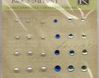 K & Company BLUE AWNING Adhesive Gems