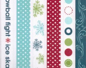 Deja Views Flurries & Frost WINTER Fabric Borders