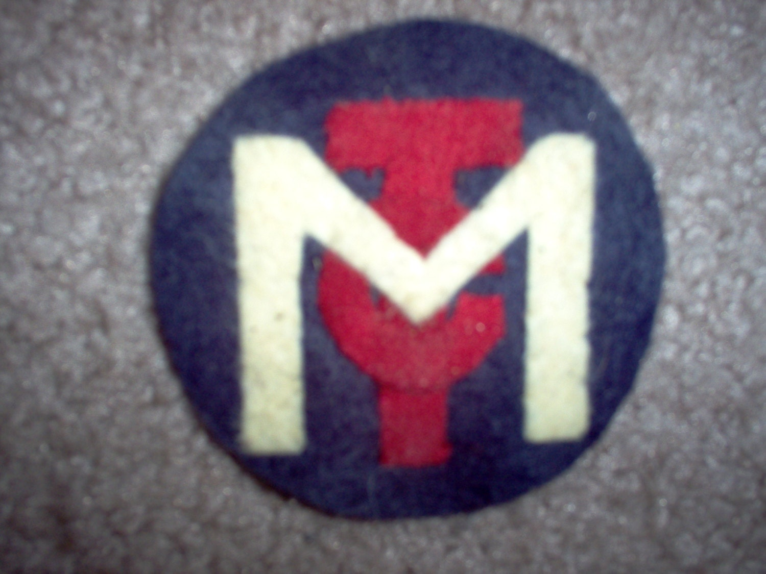 Motor transport corps patches ww1