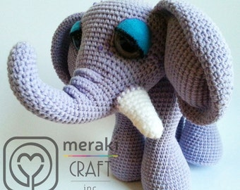 Frieda the Elephant - Amigurumi