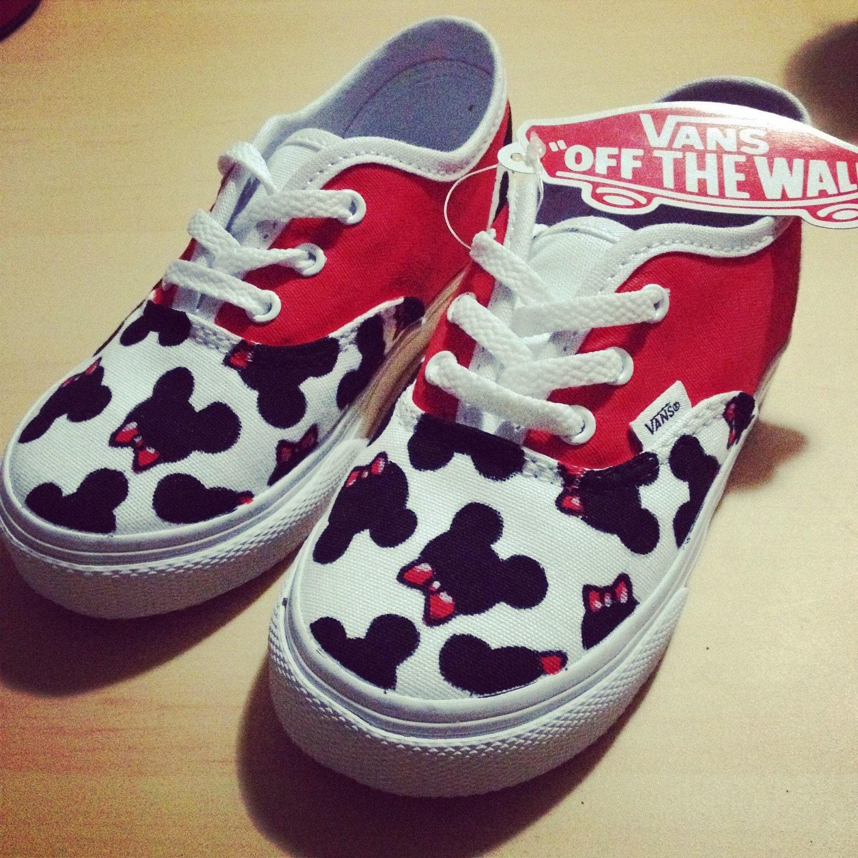 vans disney shoes for boys