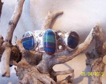 Solid Sterling Cuff bracelet.