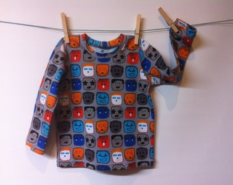 Funny heads t-shirt, mt90, starting from 12 MOS