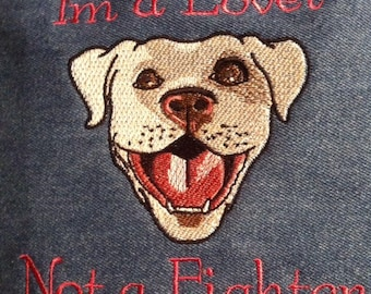Pit Bull 6x10 Lover not a fighter DST,PES