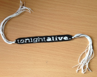Tonight Alive Friendship Bracelet