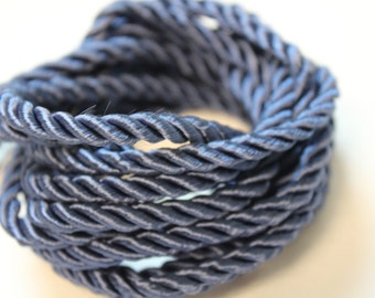 Blue Braided Cording - Decorative Trim 821