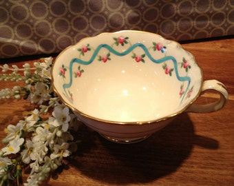 Tiffany & Co Hand Painted Teacup
