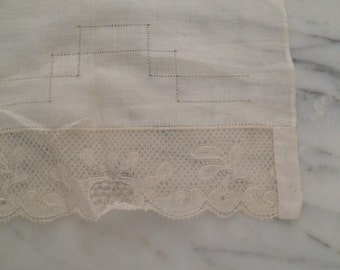 Antique White Lace Delicate Doily