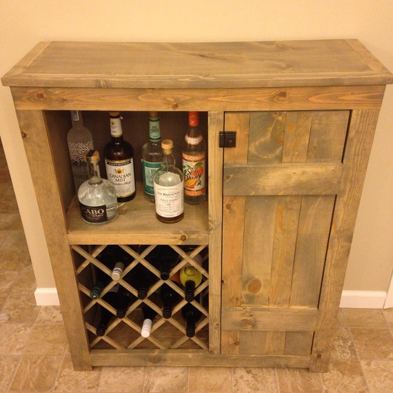 40 Cool Rustic Bar Design: Rustic Wine Bar Cabinet By MidAtlanticRustic On Etsy