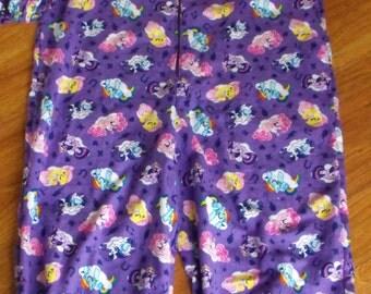 AB Footed Pajamas - Character inspired, AB flannel footed pajamas, ab character footed pajamas
