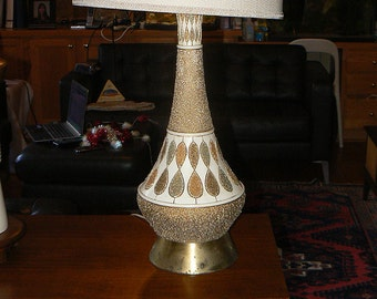 Fabulous Mid-century Modern End Table Lamp